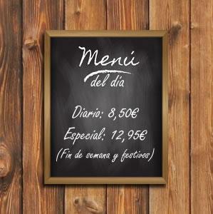 Menú del día en Restaurante Molina de Huétor Vega