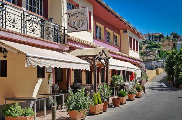 Entrada al Restaurante Molina de Granada