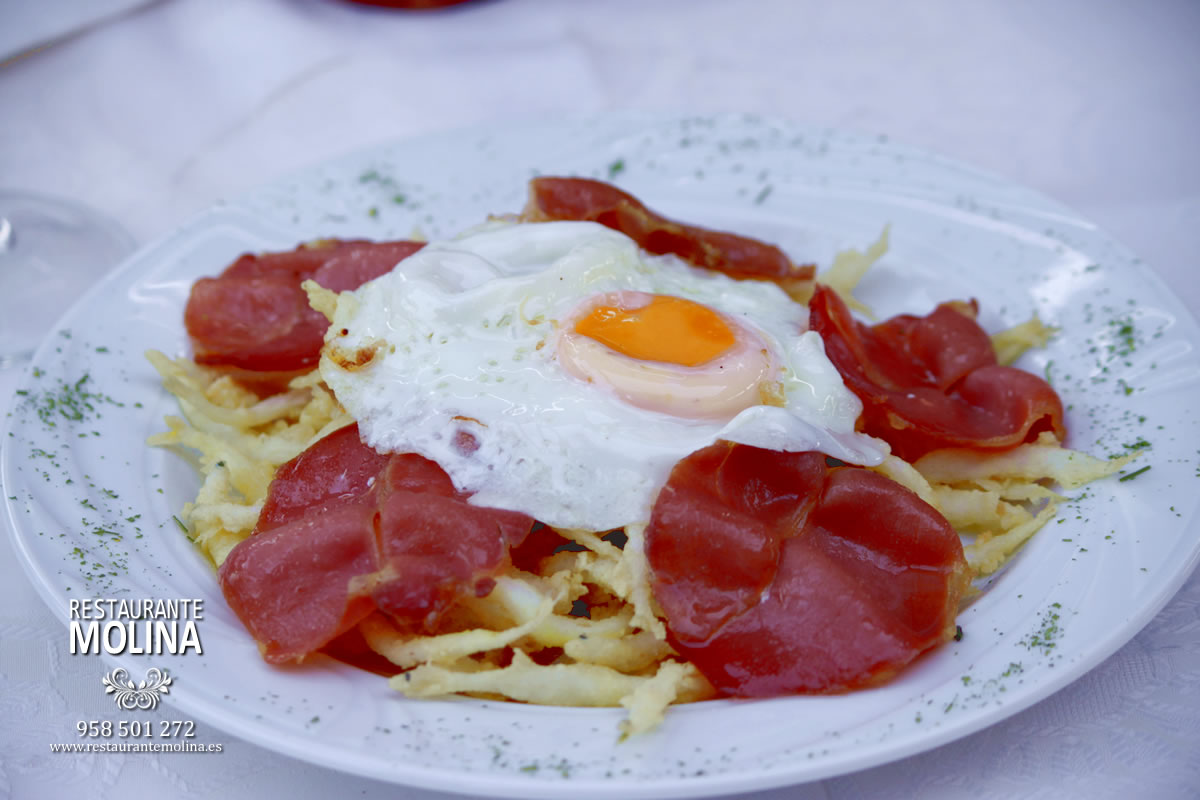 Chanquetes al gusto de chef en Restaurante Molina