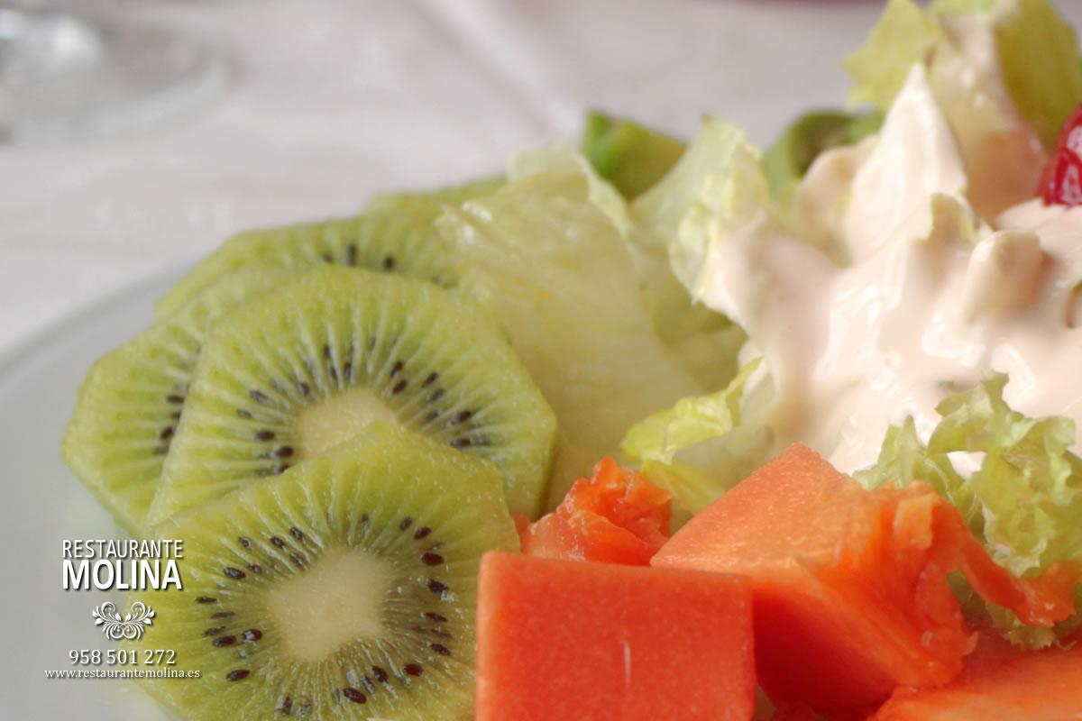 Ensalada tropical en Restaurante Molina