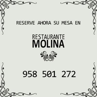 Reserve su mesa en Restaurante Molina