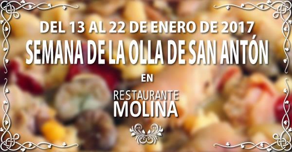 Olla de San Antón en Restaurante Molina